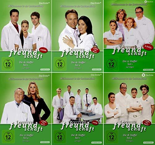 In aller Freundschaft - Staffel 16-18 (34 DVDs)