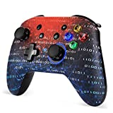 REDSTORM Gaming Controller for Nintendo Switch, Wireless Bluetooth Gamepad Joystick Joypad, Turbo / Dual Shock Vibration / 6-Axis, compatible with Nintendo Switch / Switch Lite / PC