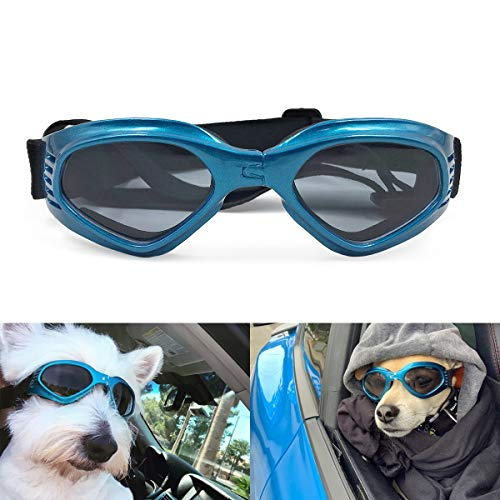 Namsan Stylish And Fun Pet/Dog Puppy UV Goggles Sunglasses Waterproof Protection Sun Glasses For Dog -Blue by Namsan