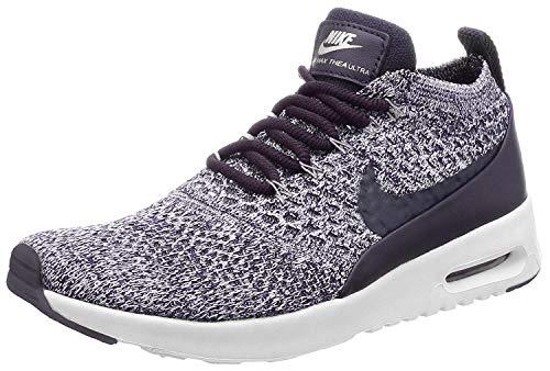 Nike Damen air max thea ultra-fk lauf trainers 881.175 turnschuhe 4 uk dunkle rosine weiß 500