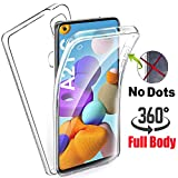 KP TECHNOLOGY Galaxy A21s Case - (360 Front + Back