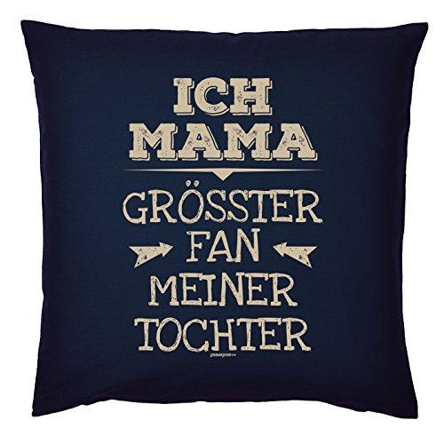 Art & Detail Shirt Coussin : Maman Mom Fête des Mères – Je maman le plus grand fan Ma fille – Comme Présent