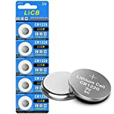 LiCB CR1220 Battery,Long-Lasting & High Capacity CR1220 Lithium Batteries,3 Volt Coin & Button Cell (5-Pack)