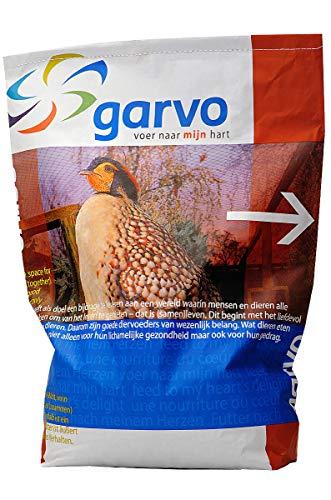 Garvo 20kg 824 Ziervogel Tetrao - Futter für Raufußhühner, Rebhühner, Fasane & anderes Ziergeflügel