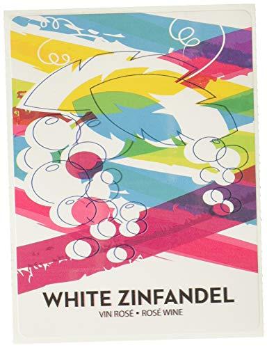 Home Brew Ohio White Zinfandel Wine Labels