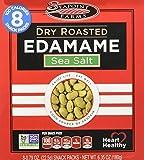 Sea Point Farms Edamame Dry Rstd Sea Salt 100 Cal 8-0.79 OZ Snack Packs.Net Wt.6.35 OZ. (180g)