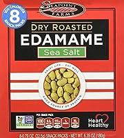 SeaPoint Farms - Edamameの乾燥した焼かれた軽食は海の塩を詰める - 6.35ポンド