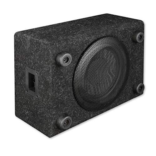 Axton ATB120QB: kompakter 20 cm / 8 Zoll Gehäuse Subwoofer, 200 Watt RMS, kleine Bassreflex Bassbox für Auto, LKW und Reisemobil, Plug & Play einfacher Einbau