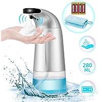 Boperzi Touchless Infrared Motion Sensor Soap Dispenser Pump 10 Oz