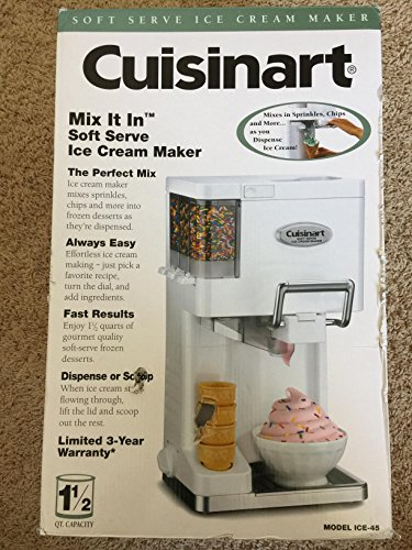 1. Most Popular Home Family Kids Kitchen Soft Serve Ice Cream Yogurt Sorbet Sherbet Maker