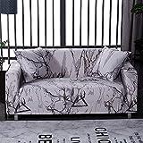 WXQY Funda de sofá de celosía Funda de sofá Todo Incluido elástica, Utilizada para la Funda de Muebles de Sala, Funda de sofá, Toalla de sofá A17 de 4 plazas