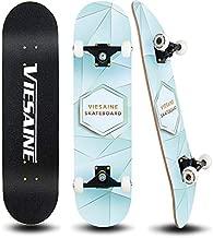 PHOEROS Skateboards -Standard Skateboards for Kids Boys Girls Youths Beginners Starter-Complete Skate Boards 31''x 8''Canadian Maple Pro Cruiser (Green)