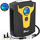 SKEY Digital Tyre Inflator, Car Tyre Pump, 12V 150 PSI Tire air Pump with...