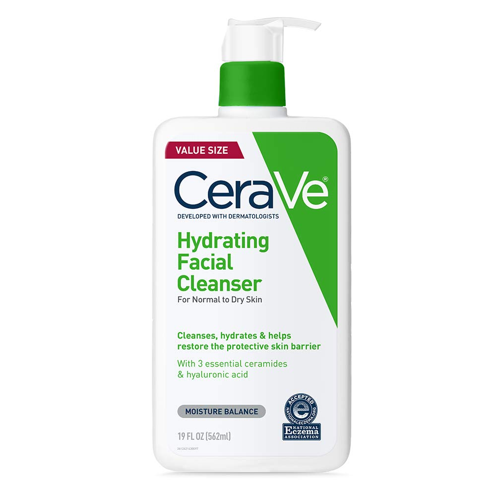 CeraVe Hydrating Facial Cleanser Fragrance