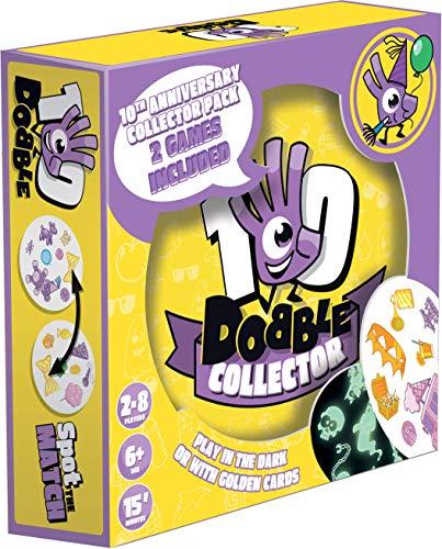 Asmodee Editions ASMDOBCO10EN Dobble Édition Collector 10ème Anniversaire Couleurs mélangées