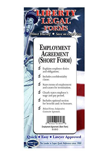 Employment Agreement - USA - Do-it-Yourself Legal Forms by Permacharts.