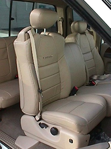 Durafit Seat Covers, Made for 2001-2007 Ford F250-F550 Front 40/20/40 Split Seat...