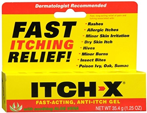 ITCH-X Anti-Itch Gel 1.25 oz (Pack of 2)
