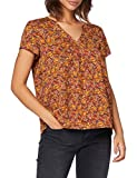 Only ONLFAY Life S/S Top WVN Blusas, Burnt Henna, 42 para Mujer