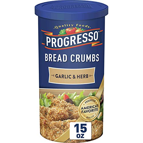 Progresso Bread Crumbs Garlic & Herb, 15 oz