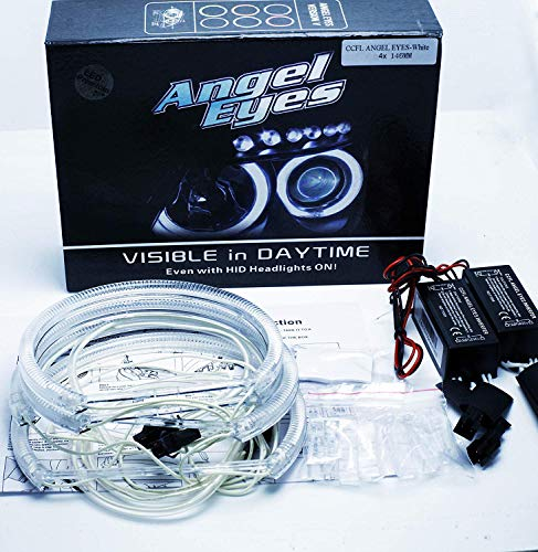 Kit Angel Eyes CCFL 4 x 146 mm CANBUS E46 FACELIFT LCI OHNE Projektor weiß 6000K Angel Eyes Halo Ringe