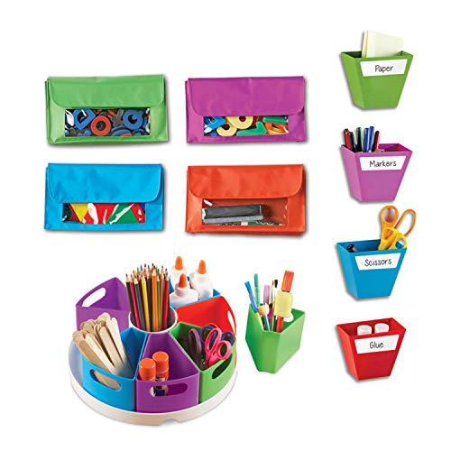 Learning Resources Create-a-Space Storage Bundle, Homeschool Set, Classroom Accessories, Ages 3+