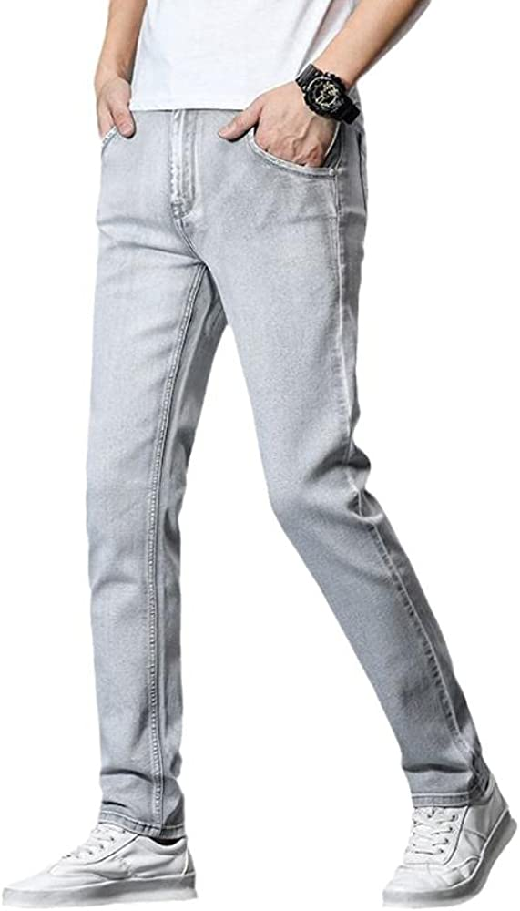 Men's Mid-Rise Jeans Fall Loose Ripped Max 76% OFF 25% OFF Comfort Straight Stretch