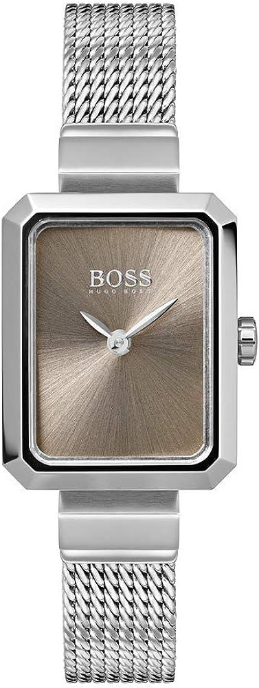 Hugo boss, orologio analogico al quarzo per donna,in acciaio inossidabile 1502431