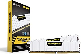 Corsair Vengeance LPX 16GB (2x8GB) DDR4 DRAM 3000MHz C15 Desktop Memory Kit - White
