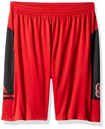 adidas NCAA Sideline - Pantalones Cortos para Hombre, Color Rojo