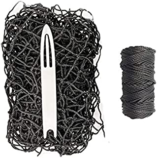 "JFN Netting Repair Kit for #36 Nylon 1-7/8"", Black Baseball Net"