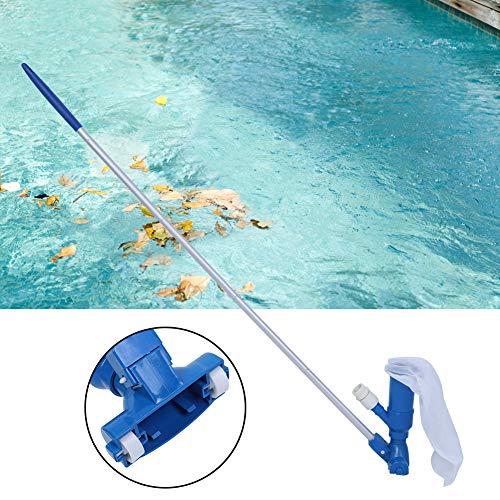 Camidy Kit de Cabezal de Aspiradora para Piscina Equipo de Limpieza de Cabezal de Aspiración de Aspiradora de Limpiador de Chorro de Piscina