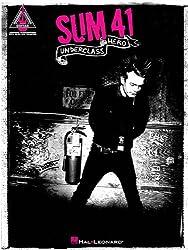 Sum 41 Underclass Hero Guitar Recorded Version Gtr Tab Book.