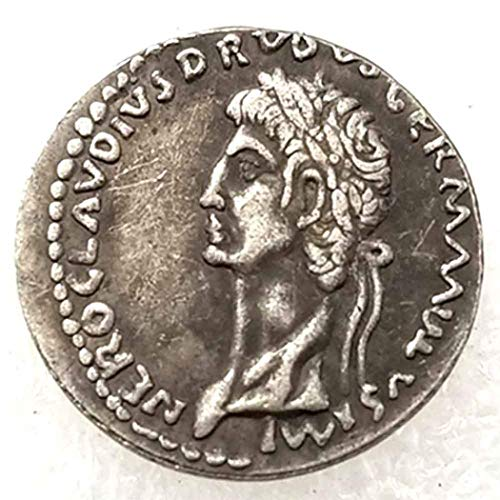 Price comparison product image DengRen Ancient Replica Roman Old Coin - Philosopher King - Roman Empire Coin - Roman Coinage -Commemorative Coin-Discover History of Coin Copy Type 1002 Satisfactory Service