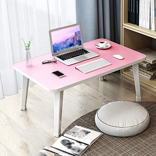 YJTGZ Escritorio Plegable para computadora portátil, Bandeja de Desayuno, Mini Mesa de Picnic portátil, Soporte para computadora portátil, Mesa de Comedor Simple y Perezosa para la Parte inferiordle