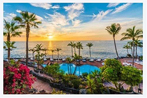 Puzzle 1000 Piezas At Sunset On The Coast Of Tenerife Tenerife Uego Casual De Arte Diy Juguetes Regalo Interesantes Amigo Familiar Adecuado