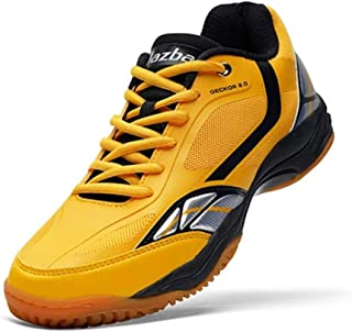 JAZBA Sports Shoes for Indoor Games, Light Weight, Anti-Skid   For Badminton, Sqash, Volleyball   Series - Geckor 2.0
