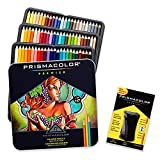 Prismacolor Premier Colored Pencils, Soft Core, 72 Pack with Pencil Sharpener