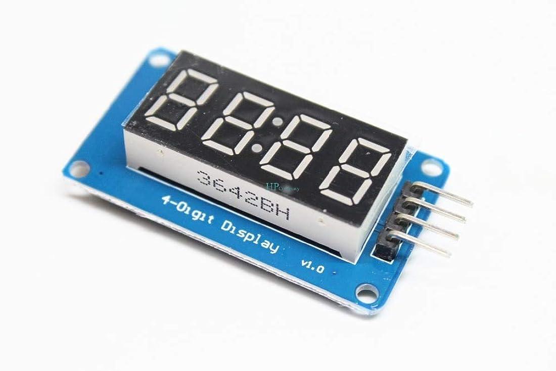 望み問い合わせペットWillBest 100PCS TM1637 LED Display Module for arduino 4 Bits 0.36Inch Clock RED Anode Digital Tube Four Serial Driver Board