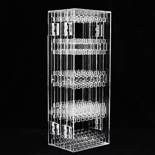 xingxing Storage & Organization - Soporte de plástico para pendientes, 256 agujeros, soporte de exhibición de joyas, para collares, exposiciones de joyas