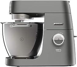 Kenwood Chef XL Titanium KVL8300S Keukenmachine, 1700 W, 6.7 L Inhoud, 5-Delige Patisserie-Set System Pro, Grijs