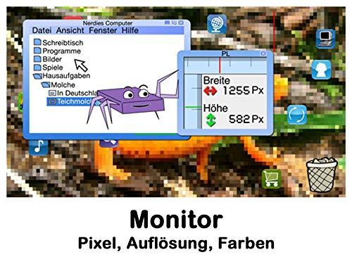 Monitor/Pixel, Auflösung, Farben