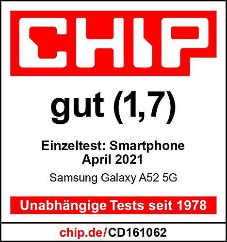 Samsung Galaxy A52 5G Smartphone ohne Vertrag 6.5 Zoll Infinity-O FHD+ Display, 128 GB Speicher, 4.500 mAh Akku und Super-Schnellladefunktion, blau, 30 Monate Herstellergarantie [Exklusiv bei Amazon] - 8