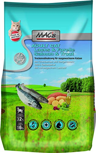 Mac's Katzenfutter getreidefrei Adult Lachs & Forelle, 1.5 kg