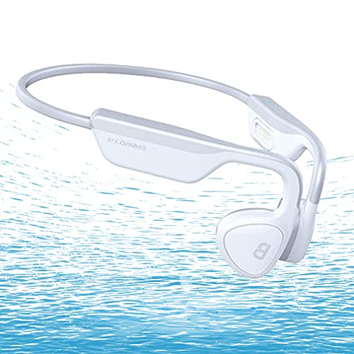 AQUYY Auriculares de Natación Cascos Deportivos Inalambricos Bluetooth 5.0, Reproductor de MP3...