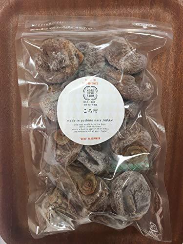 ころ柿 訳あり500g×5P 堀内果実園 奈良県産 完全無添加 しっかりした食感 甘み旨みが凝縮された食べごたえのある干し柿 サイズ不揃い訳あり