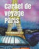 Carnet de voyage Paris: Journal de voyage , 175 pages , idée de cadeau. /carnet de voyage à...