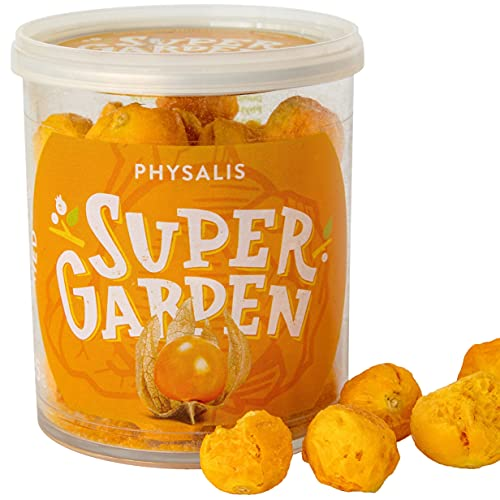 Freeze Dried Physalis - Freeze Dried Fruit - Delicious & 100% Pure Freeze Dried Physalis – No...