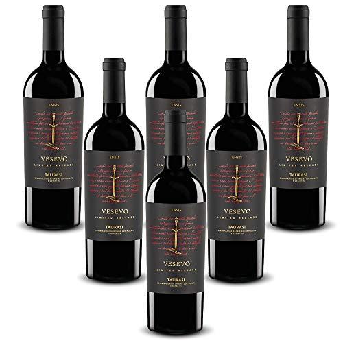 Vesevo ENSIS Taurasi DOCG Aglianico Vesevo (6 bottiglie 75 cl.)