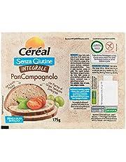 Céréal Pan Campagnolo pane senza glutine integrale, con Lievito Madre, con farina di grano saraceno integrale - 175 g